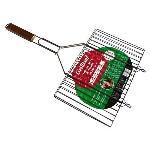 Решетка Grillkoff 212 для мяса, 35х23 смРешетки<br>
