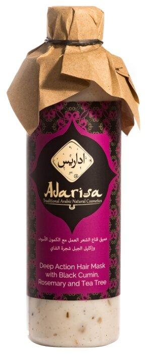 Adarisa Маска-бальзам для волос губокого действия с черным тмином, розмарином и чайным деревом