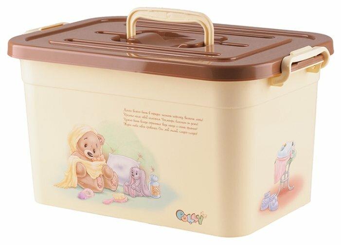 Полимербыт Ящик для игрушек 10л POLLY [81020]