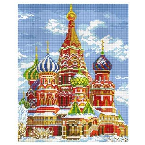 Купить Белоснежка Набор алмазной вышивки Храм Василия Блаженного (141-ST-S) 40x50 см, Алмазная вышивка