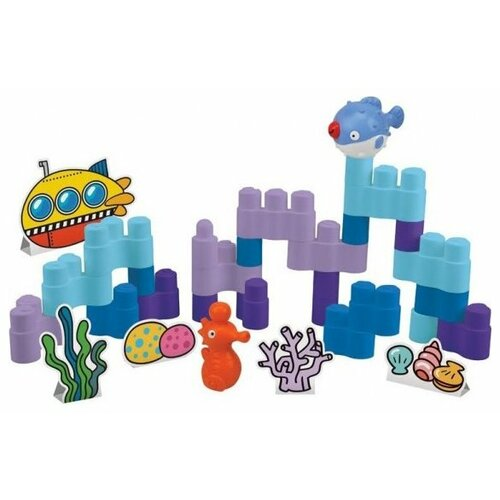 Конструктор K's Kids Popbo Blocks KA10749 Создай свой подводный мир