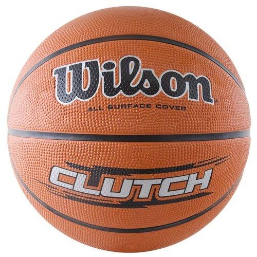 Баскетбольный мяч Wilson WTB1434XB, р. 7 оранжевый/черный/серебристыйМячи<br>