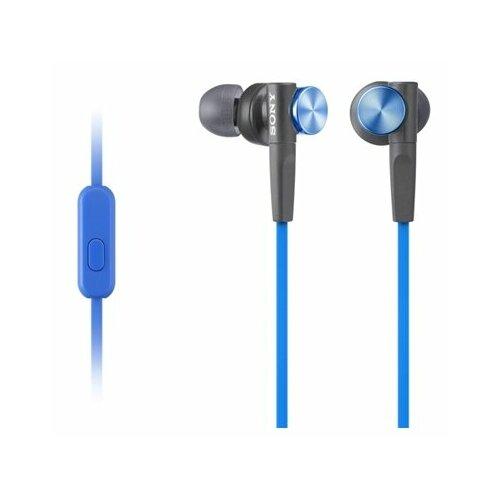 Фото - Наушники Sony MDR-XB50AP, синий наушники sony mdr xb50ap черный