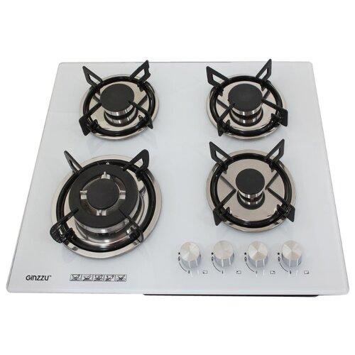 Газовая варочная панель Ginzzu HCG-443 white