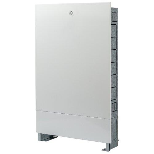 Коллекторный шкаф встраиваемый STOUT ШРВ-0 SCC-0002-000013 белый шкаф распределительный stout встроенный 1 3 выхода шрв 0 670х125х404 мм scc 0002 000013