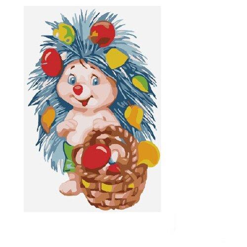 Купить Molly Картина по номерам Богатый урожай 20х30 см (KH0271), Картины по номерам и контурам