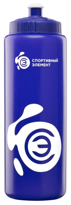 Спортивный элемент Бутылка 1 л Азурит