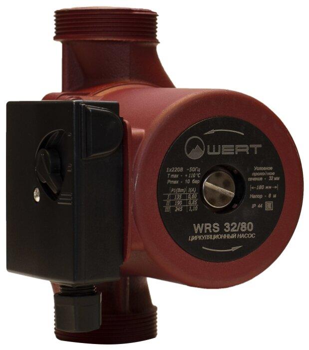 Циркуляционный насос Wert WRS 32/80 (245 Вт)