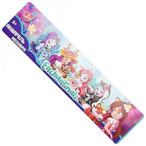 Купить CENTRUM Акварельные краски Enchantimals 6 цветов (88697), Краски