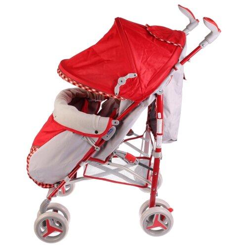 Фото - Прогулочная коляска Bimbo Geo F красный коляска прогулочная bimbo 263317 263317 серый