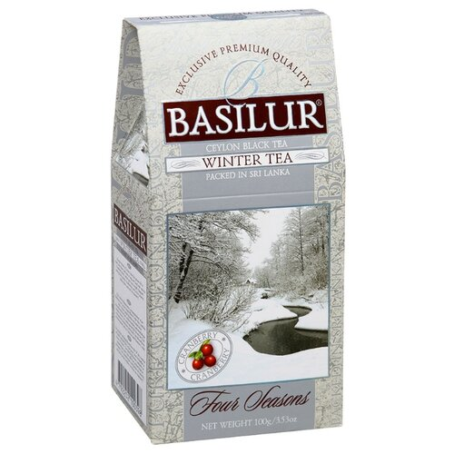 Чай черный Basilur Four seasons Winter tea , 100 г basilur tea book v черный листовой чай 100 г жестяная банка