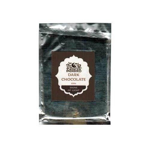 Хна Indibird тёмный шоколад, 50 г хна для волос натуральная черная indibird 50 г