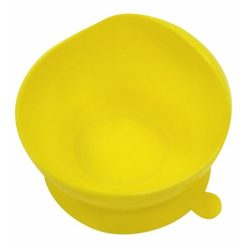 Тарелка Lubby на присоске (14421) желтый