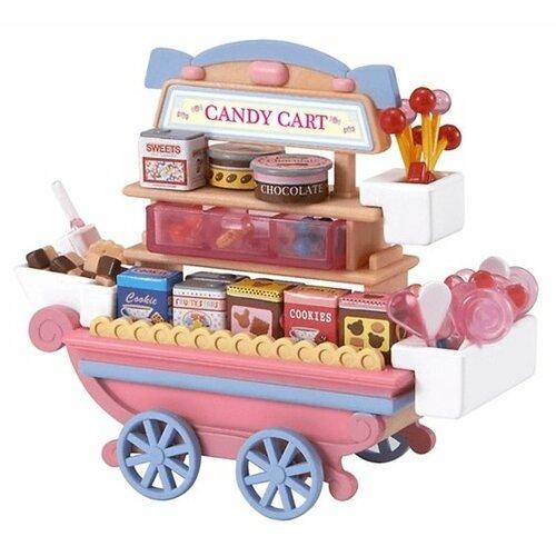 Игровой набор Sylvanian Families Тележка со сладостями 2812/5053, Игровые наборы и фигурки  - купить со скидкой
