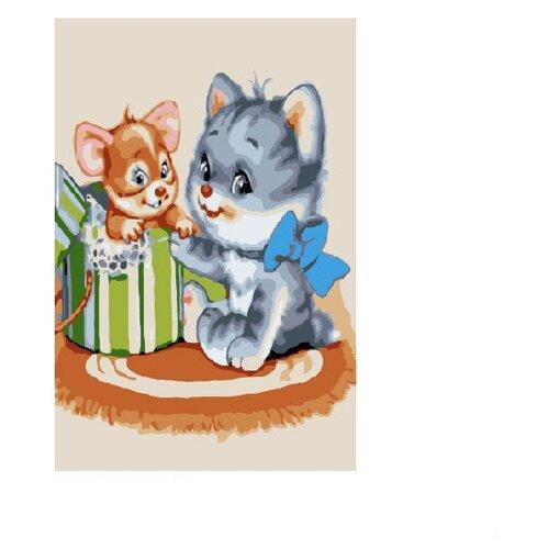 Molly Картина по номерам Сюрприз 20х30 см (KH0272) molly картина по номерам тигр 40 50 см