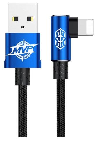 Кабель Baseus MVP Elbow USB - Lightning (CALMVP) 2 м синий фото 1