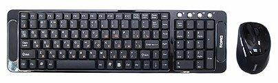 Клавиатура и мышь Dialog KMRLK-0318U Black USB