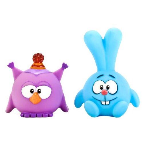 Набор для ванной Играем вместе Смешарики - Крош и Совунья (LXS36-43) голубой/фиолетовыйИгрушки для ванной<br>