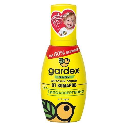 Спрей Gardex Baby детский от комаров с 1 года 75 мл