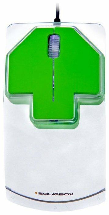 Мышь Solarbox X07 Green USB