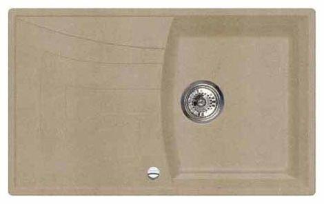 Врезная кухонная мойка Whinstone Алькала 78х47.5см искусственный гранит