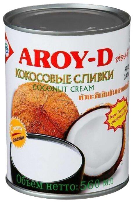 Кокосовые сливки, 560 мл - Aroy-D