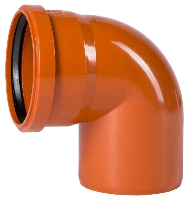 Отвод для наружной канализации Ostendorf 220240 Ду 110мм 87/90˚ НПВХ — купить по выгодной цене на Яндекс.Маркете