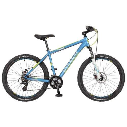 Горный (MTB) велосипед Stinger Reload D 26 (2017) синий 16 (требует финальной сборки) горный mtb велосипед merida big seven 20 d 2020 silk medium blue silver yellow 17 требует финальной сборки