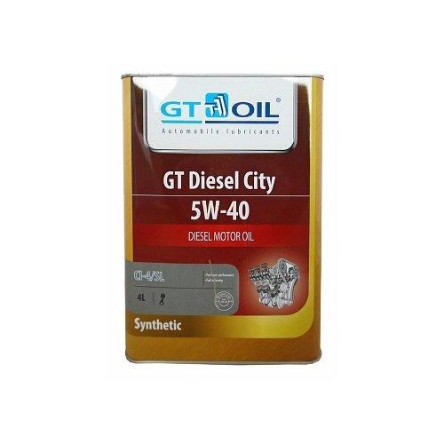 Моторное масло GT OIL GT Diesel City 5W-40 4 л