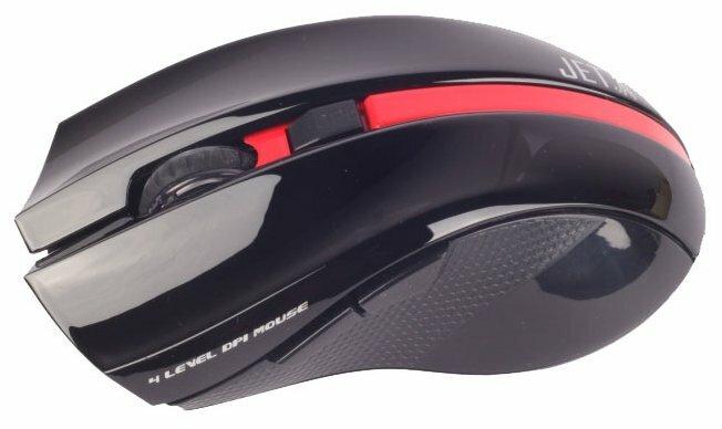 Мышь Jet.A OM-U40G Black-Red USB