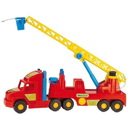 Купить Пожарный автомобиль Wader Super Truck (36570) 77.5 см, Машинки и техника