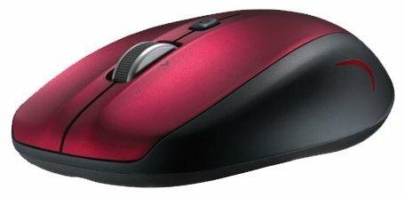 Мышь Logitech Couch Mouse M515 Red-Black USB