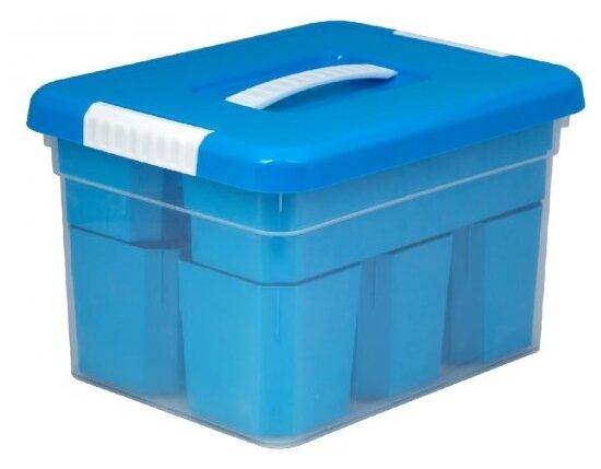 FunBox Ящик-органайзер 5 л Standart, 6 вставок S и лоток S