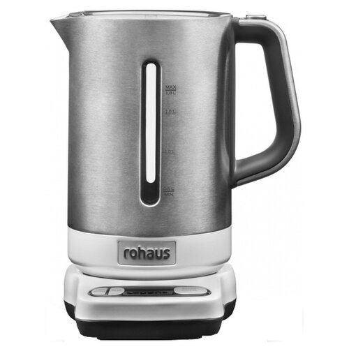 Чайник Rohaus RK910W, серебристый/белый rohaus rk810s