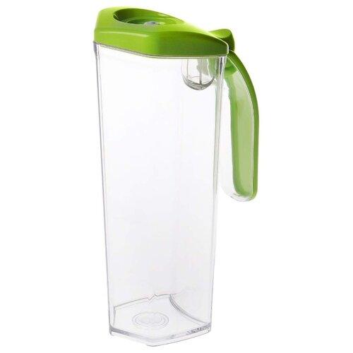 Кувшин STATUS вакуумный (JUG 1) 1 л прозрачный/зеленый