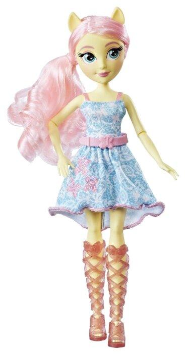 Кукла My Little Pony Equestria Girls Девочки из Эквестрии Классический стиль Флаттершай, 28 см, E0666/E0349