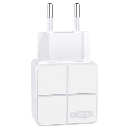 Сетевая зарядка Awei C-500 белый