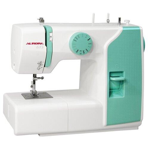 Швейная машина Aurora 615, бело-зеленый