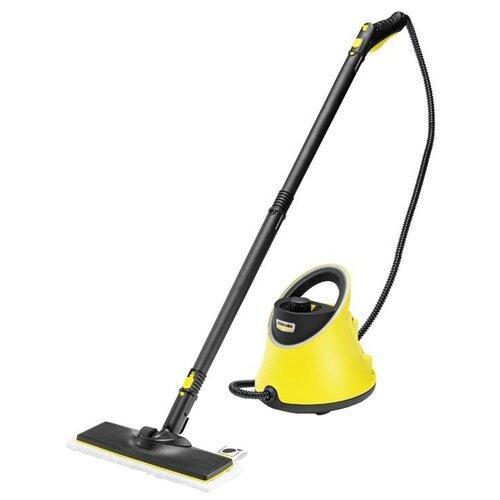 Пароочиститель KARCHER SC 2 Deluxe EasyFix, желтый/черный пароочиститель karcher sc 1 easyfix желтый черный