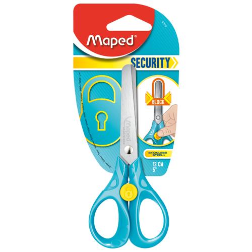 Купить Maped ножницы детские Security голубые, Ножницы