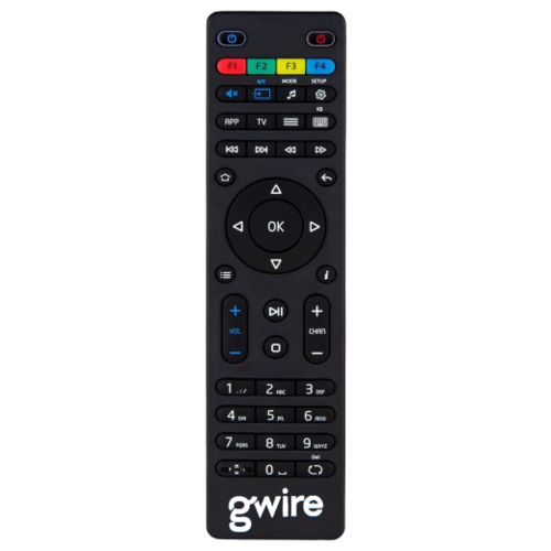 Пульт ДУ Gwire 95003 для приставок MAG-245, MAG-250, MAG-254, MAG-255,MAG-260, MAG-270, MAG-275 HD IPTV, черный