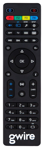 Пульт ДУ Gwire 95003 для приставок MAG-245, MAG-250, MAG-254, MAG-255,MAG-260, MAG-270, MAG-275 HD IPTV