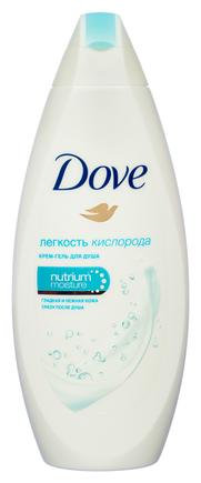 Крем гель для душа Dove Лёгкость кислорода