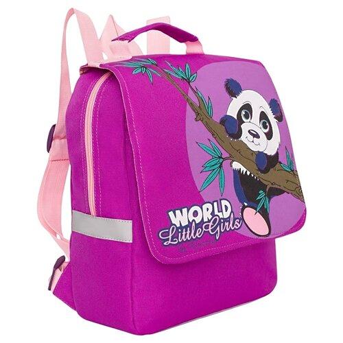 Купить Grizzly Рюкзак (RS-895-2), пурпурный, Рюкзаки, ранцы