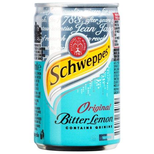 Газированный напиток Schweppes Bitter Lemon, 0.15 л schweppes индиан тоник напиток сильногазированный 1 5 л