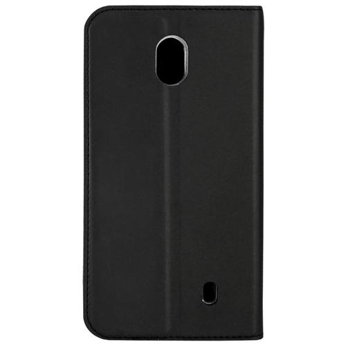Чехол Akami для Nokia 1 2018 (искусственная кожа) черныйЧехлы<br>