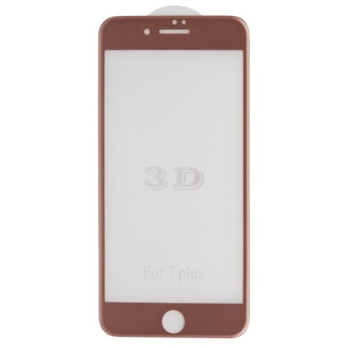 Защитное стекло Liberty Project 3D Tempered Glass с рамкой для Apple iPhone 7 Plus розовый liberty project tempered glass защитное стекло для samsung galaxy s5 mini clear 0 33 мм