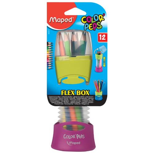 Купить Maped Цветные карандаши Color Peps 12 цветов, гибкая упаковка (683212)