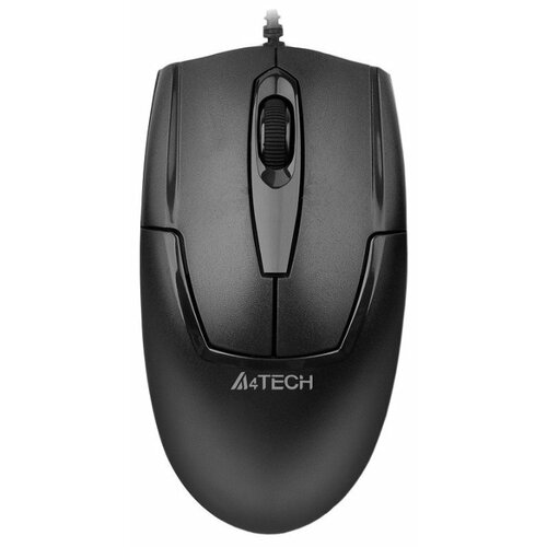 Мышь A4Tech OP-540NU Black USB a4tech v track padless op 540nu черный