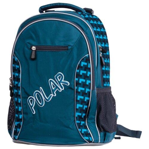 Купить POLAR Рюкзак П0082 зеленый, Рюкзаки, ранцы